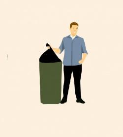 Zasady postępowania z odpadami w czasie zagrożenie epidemiologicznego.