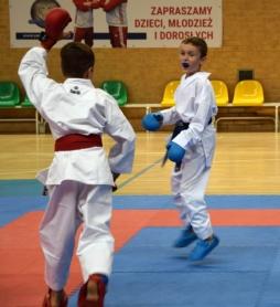 Medale karateków z Głowaczewa.
