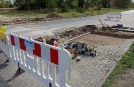 Remont drogi w Dźwirzynie