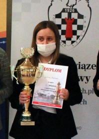 Brązowy medal Mistrzostw Polski szachistki Solnego