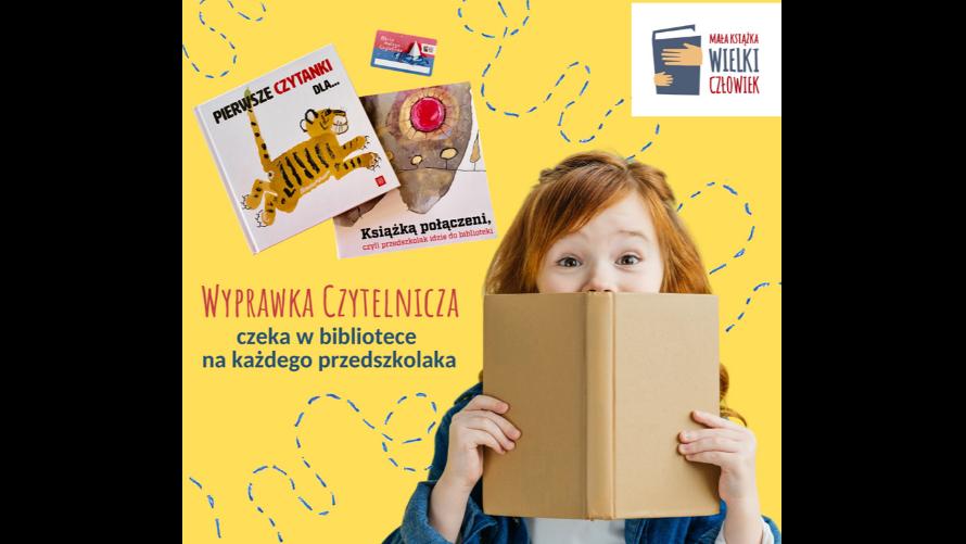 """Akcja czytelnicza """"Mała książka – Wielki Człowiek"""""""