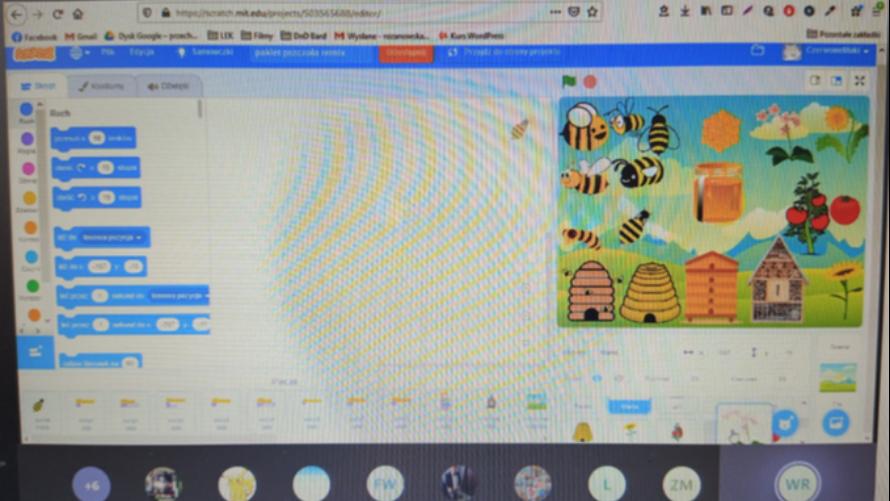 """Warsztaty """"Historia o pszczołach"""" w Pracowni Orange w Drzonowie"""