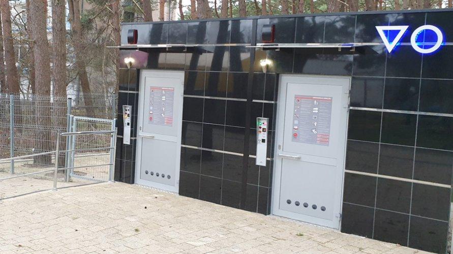 Nowy sanitariat publiczny w Dźwirzynie zbudowany